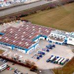 Fliesenzentrum Magdeburg - Flächenabdichtung vor Photovoltaik-Montage