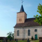Kirchturm in Schlunkendorf - Schieferdacheindeckung und Lärchenfassade