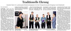 Artikel der Märkischen Allgemeinen vom 28.8.2017
