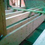 Heinrichstift - zwei komplette neue Ebenen mit insgesamt ca. 180 cbm Holz wurden in das Dach eingebaut