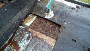 Terrassensanierung - alter Zustand