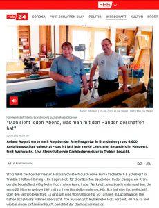 Screenshot Rundfunk Berlin-Brandenburg